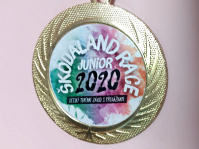 Krásné medaile jsou připraveny pro vítěze jednotlivých kategorií při 3.rocníku našeho závodu škodaland race-junior.